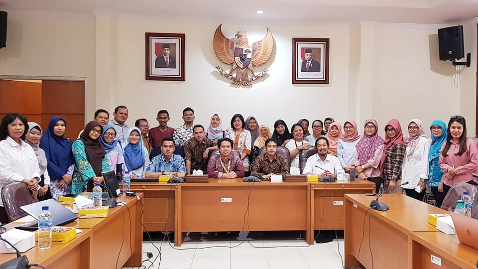 Expert Speaker Capacity Building for Researcher, Center for Research and Development of Socio Economic Policy and Climate Change (P3SEKPI)-Nov 5, 2019. Ministry of Environment and Forestry.