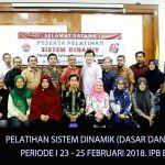 Instructor System Dynamics Training - Feb 2018