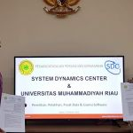 MoU Collaboration between UMRI Rector and System Dynamics Center for the development of SDC in the western of Indonesia-Oct 28th, 2019